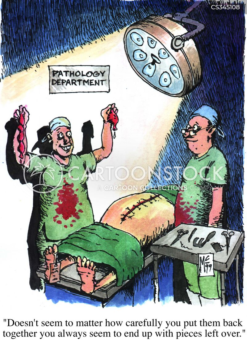 pathology cartoon