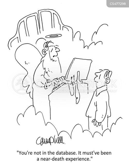 near-death experiences cartoon