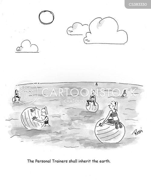 meek shall inherit the earth cartoon