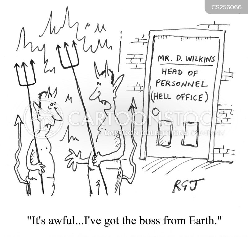 bosses from hell cartoon
