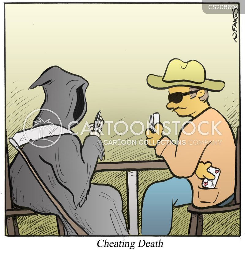 card cheats cartoon