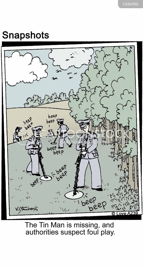 detectors cartoon