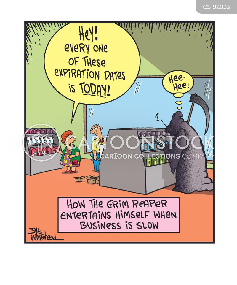 expiration dates cartoon