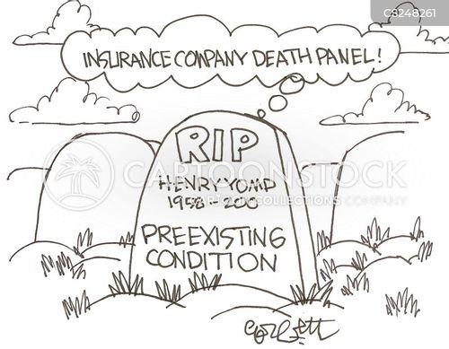 preexisting condition cartoon