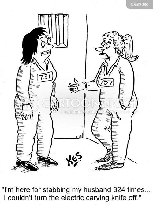 womens prison cartoon