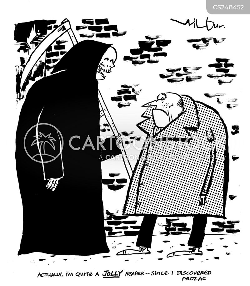 embodiments of death cartoon