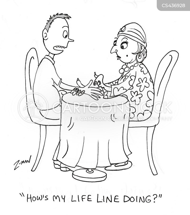 Palm Reading Cartoons and Comics - funny pictures from