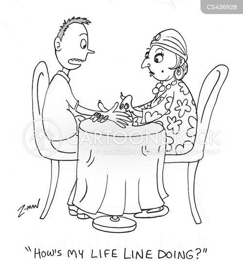 palmistry cartoon