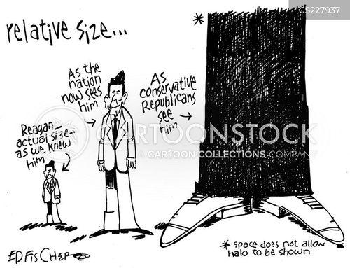 reagan cartoon