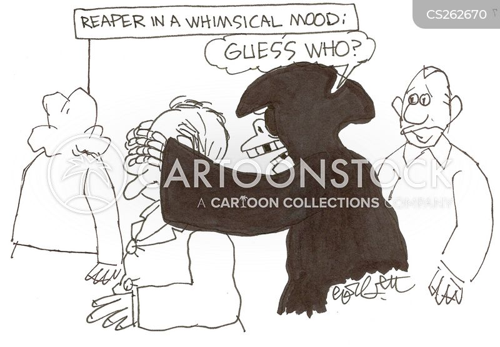 whimsical cartoon