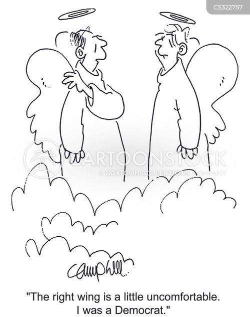 political spectrum cartoon