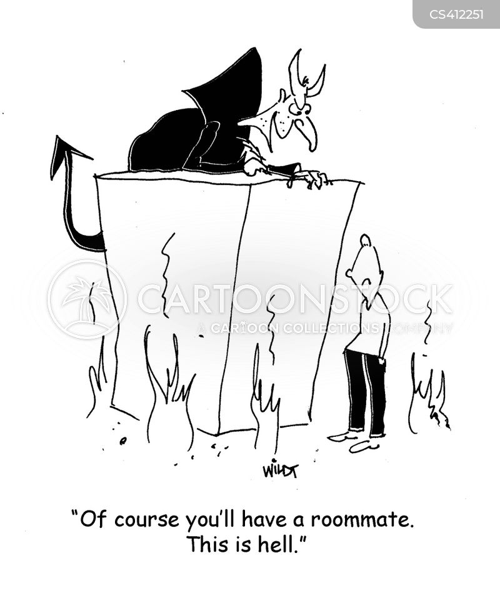 room-mate cartoon