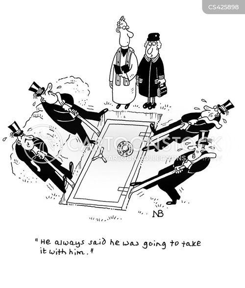 earthly wealth cartoon