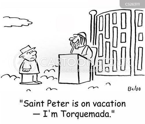 torquemada cartoon