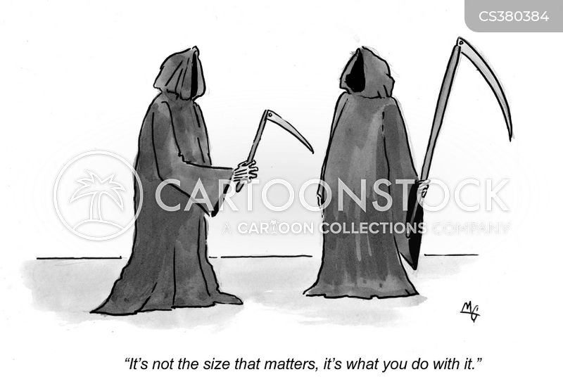 over-compensated cartoon