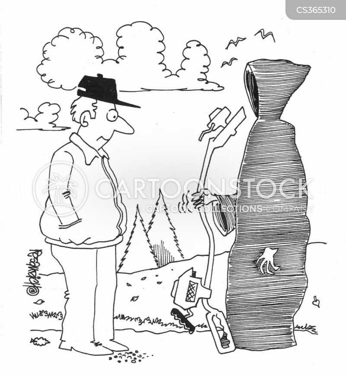 strimmer cartoon
