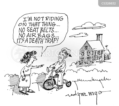 cyclers cartoon