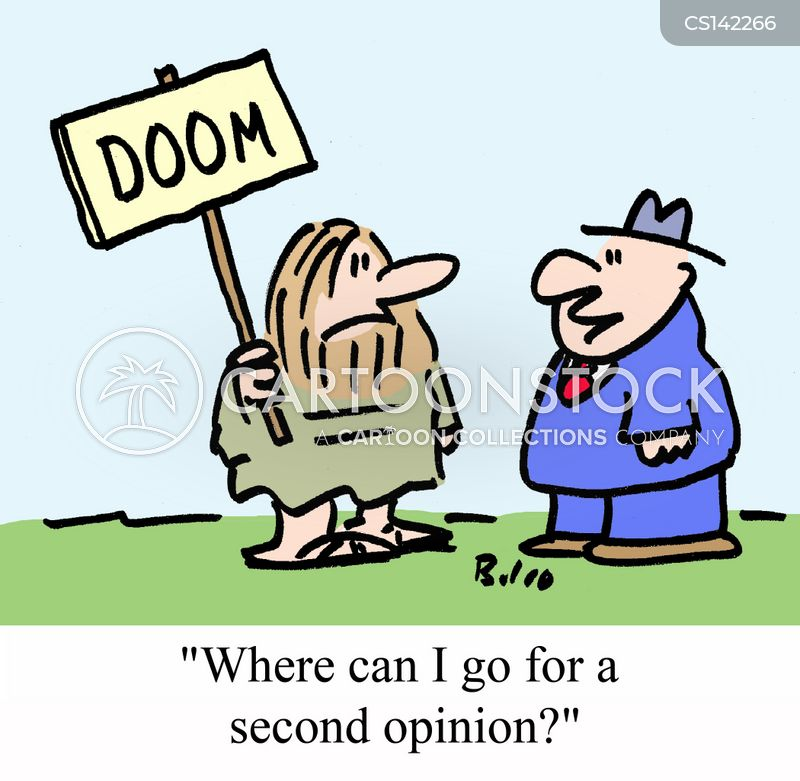 doom-sayers cartoon