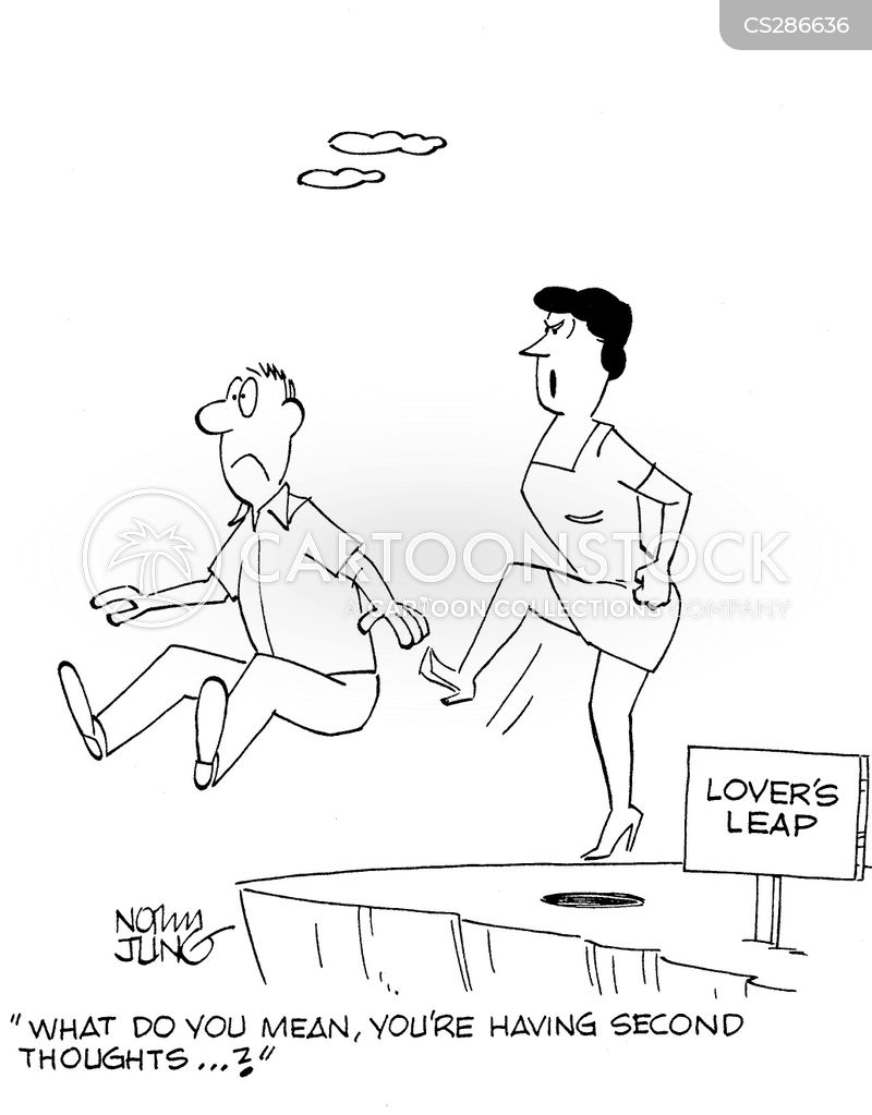 lovers leaps cartoon