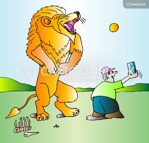 dangerous animals cartoon