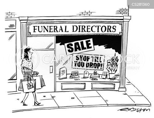 consumer culture cartoon