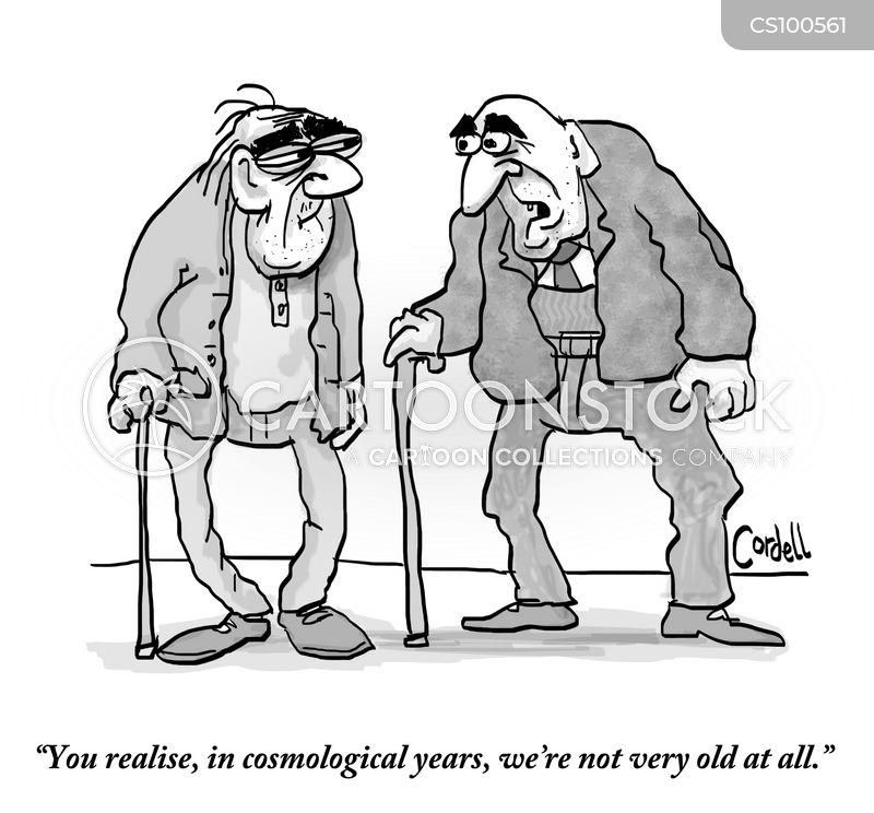 ageing processes cartoon
