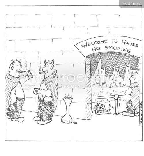 smoke break cartoon