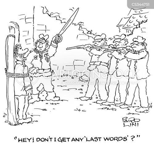 exectutions cartoon