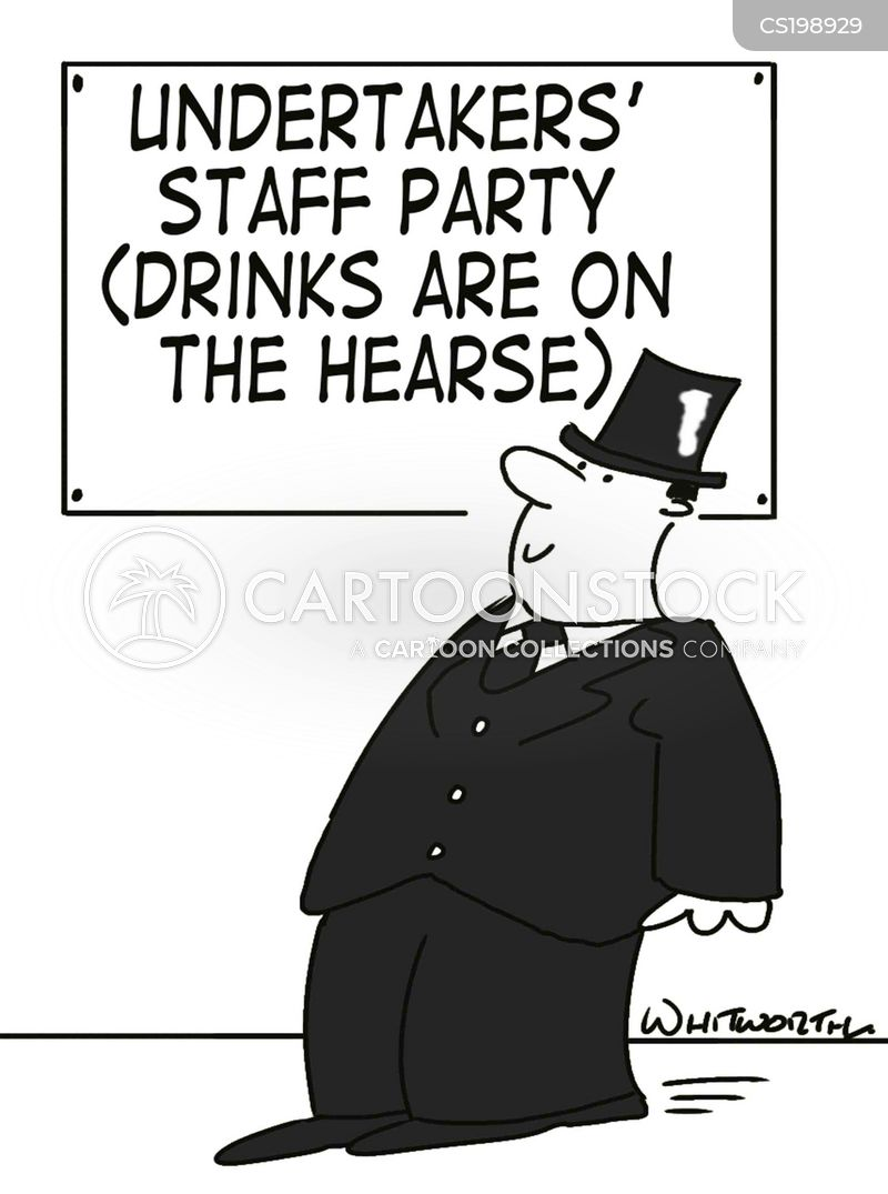 Image result for funeral house cartoons