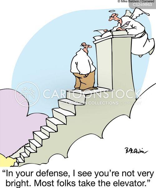 stairway to heaven cartoon