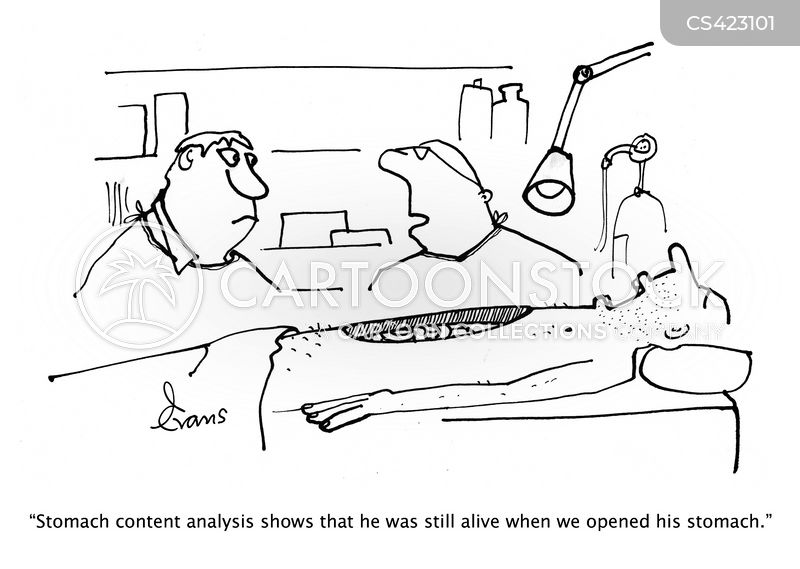 post-mortem cartoon