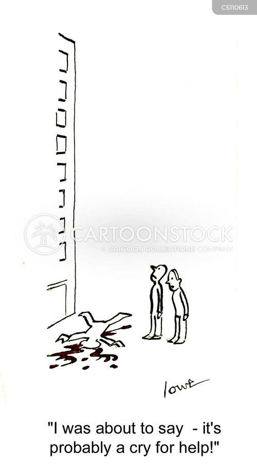 mental healthy cartoon