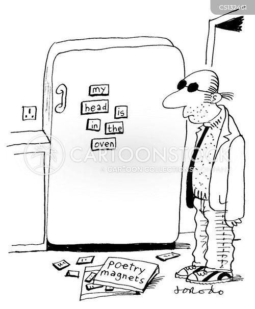 suicide notes cartoon