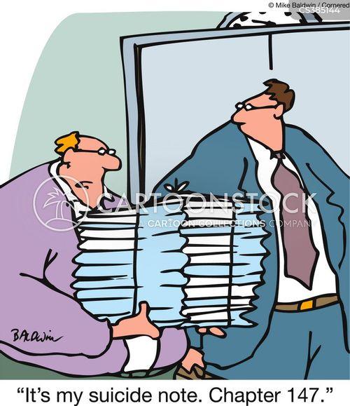 autobiographers cartoon