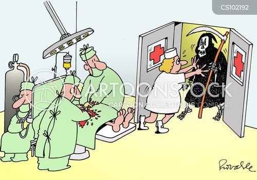 life saving cartoon