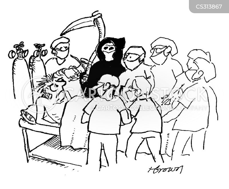 surgical team cartoon