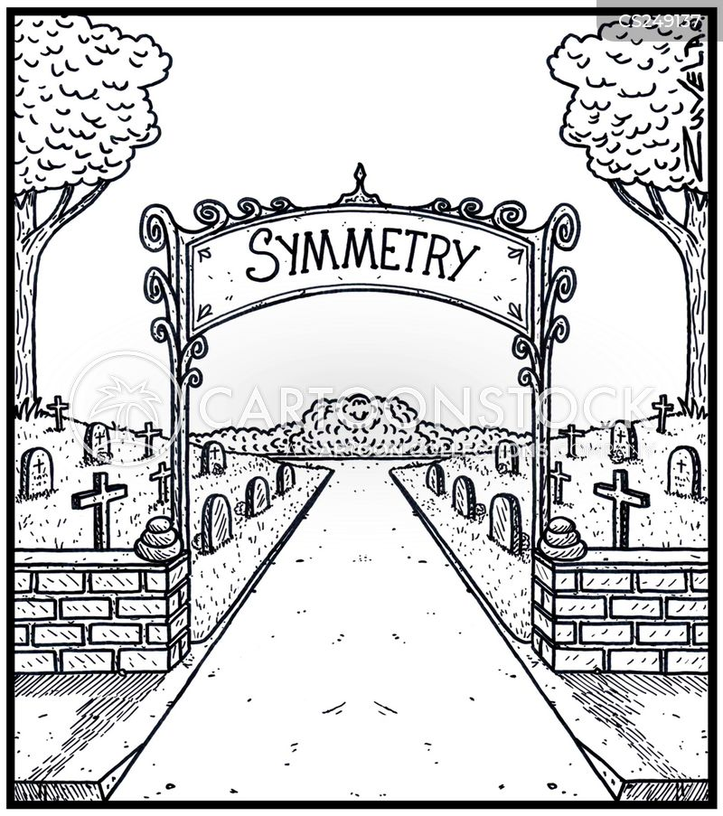 symmetry cartoon