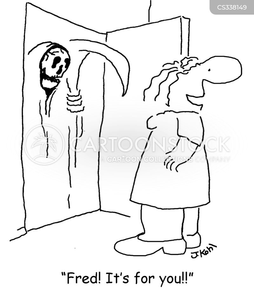 serious illness cartoon