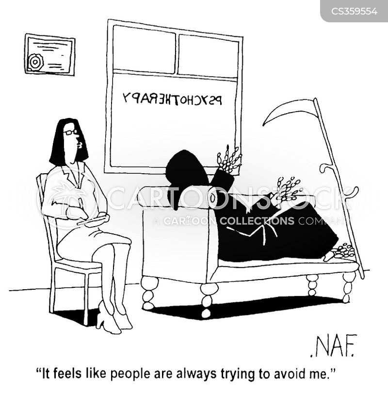 psychotherapists cartoon