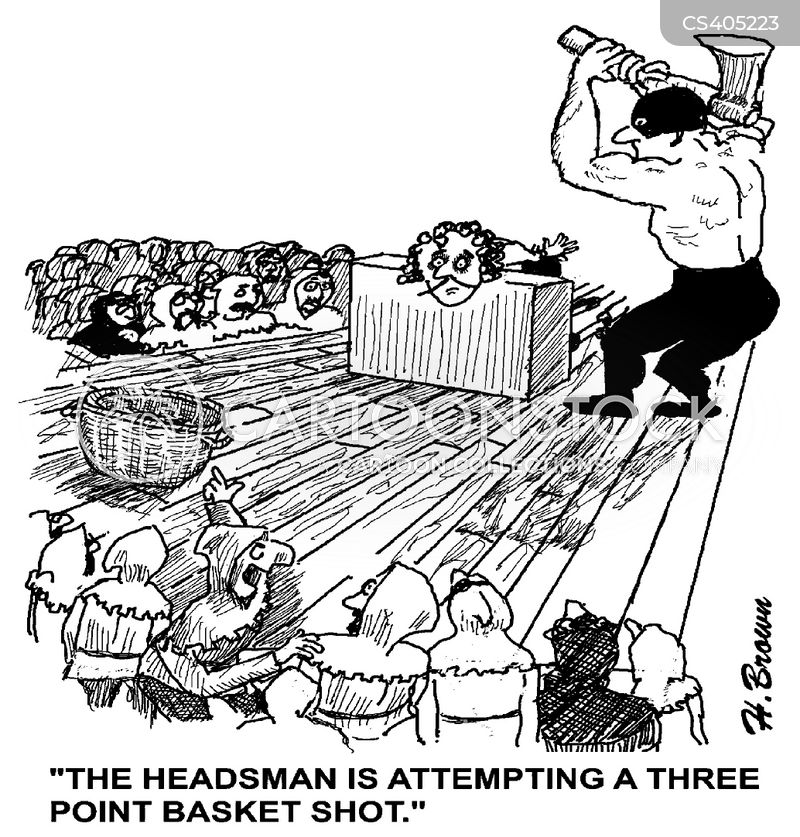 headsman cartoon