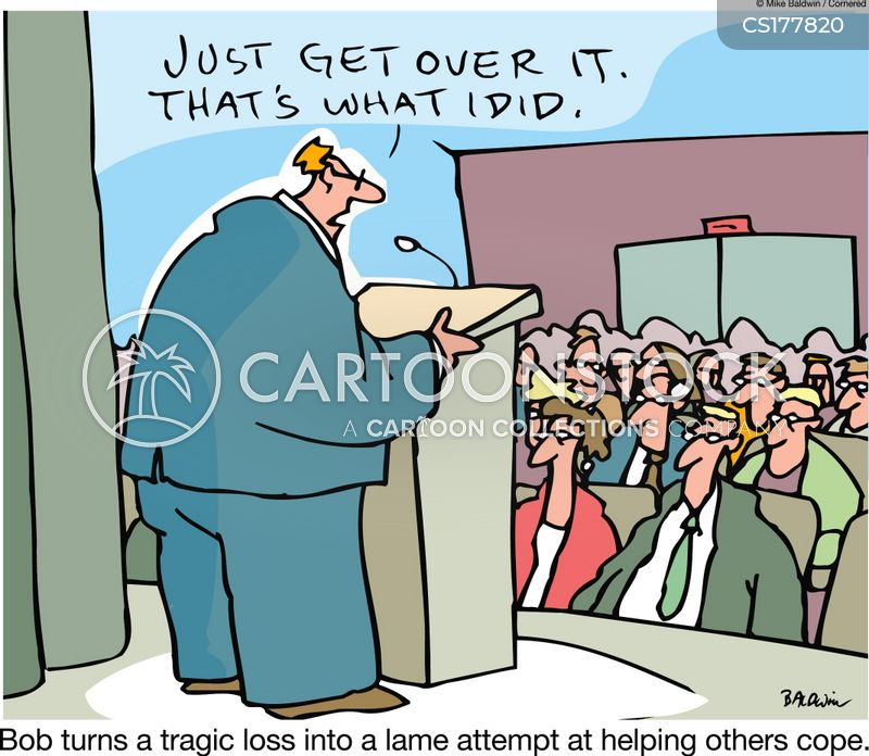 get over it cartoon