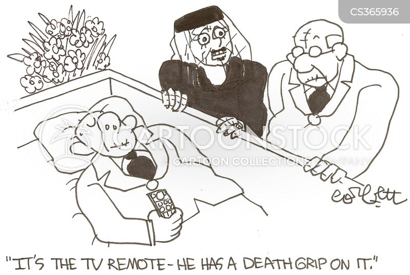 death grip cartoon