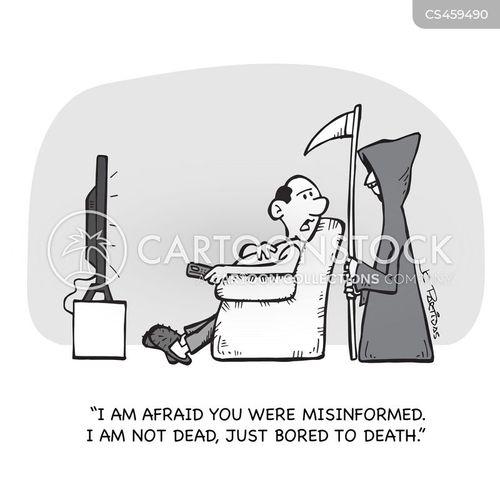 misinformed cartoon