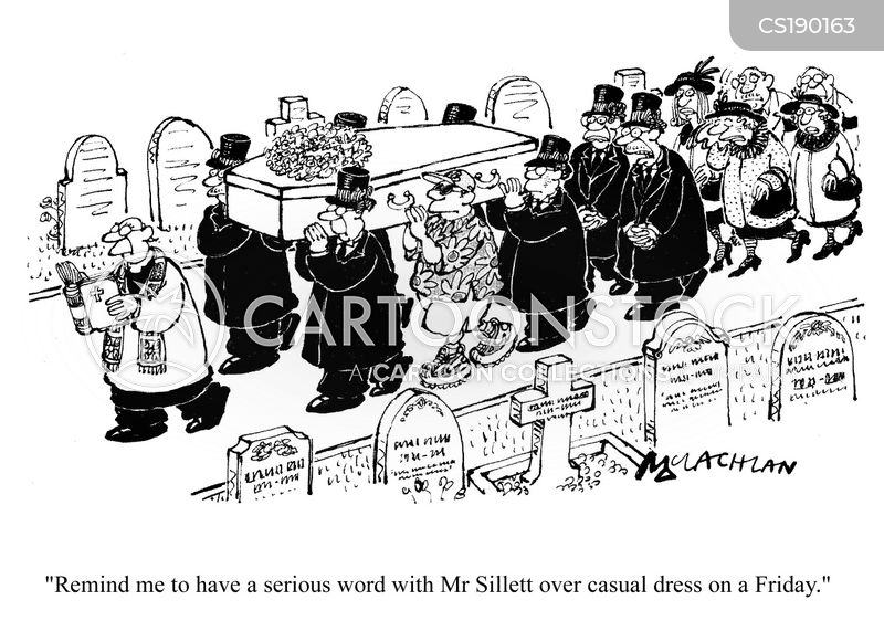 Image result for funeral cartoon