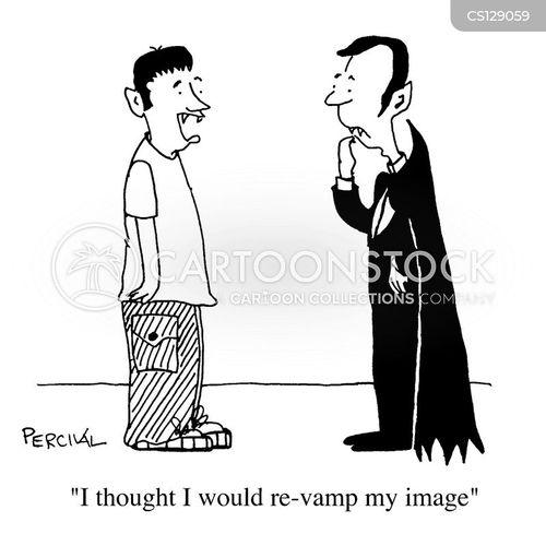 revamped cartoon