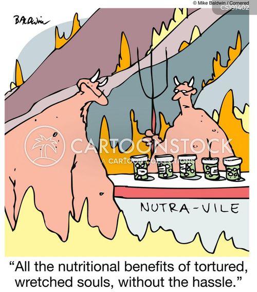 supplement cartoon
