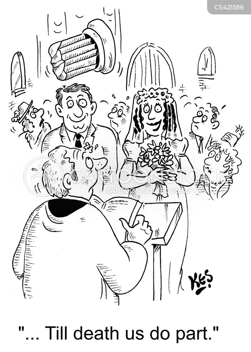 wedding oaths cartoon