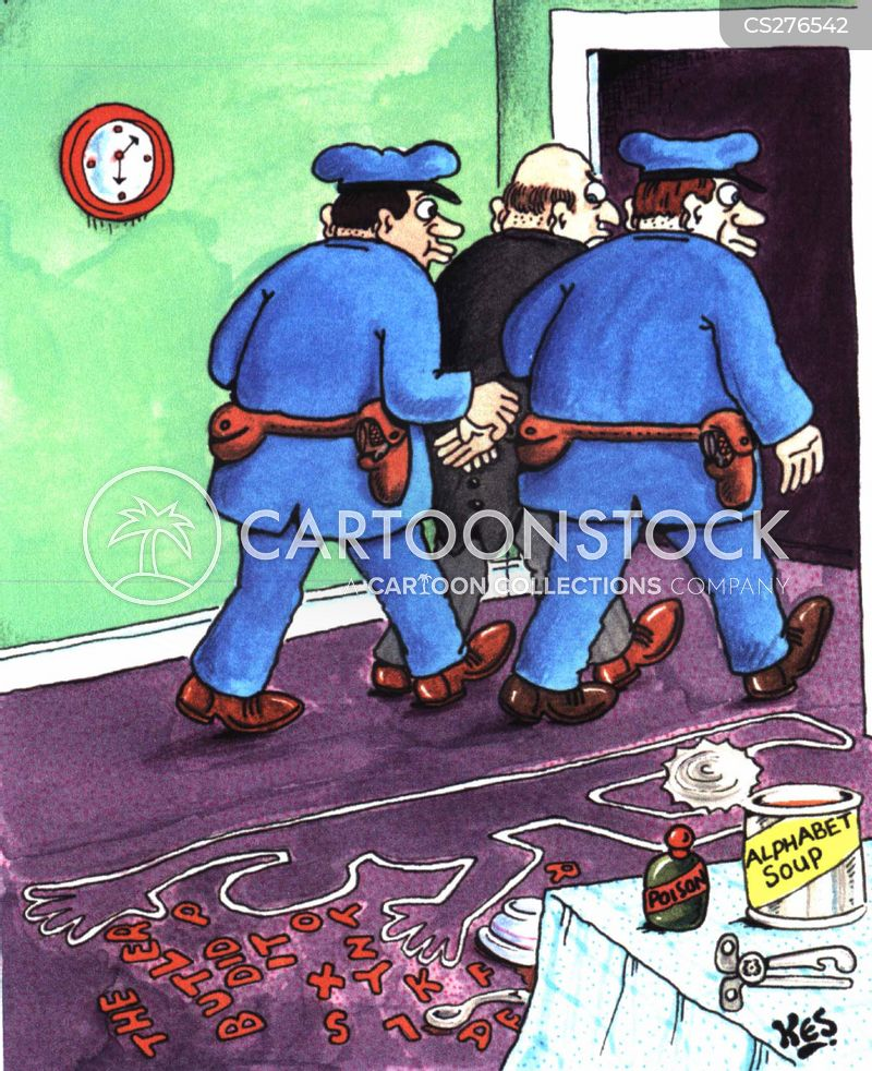 who done it cartoon