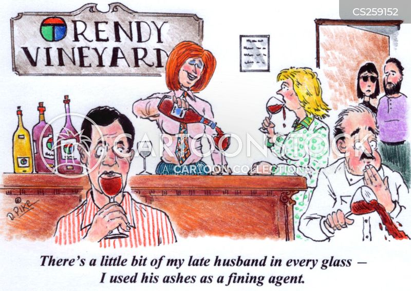 oenology cartoon