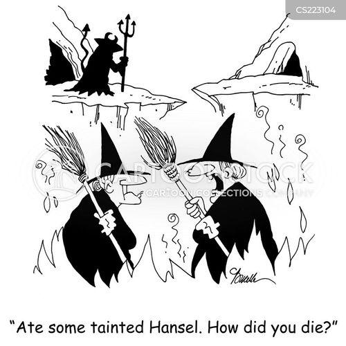 tainted food cartoon